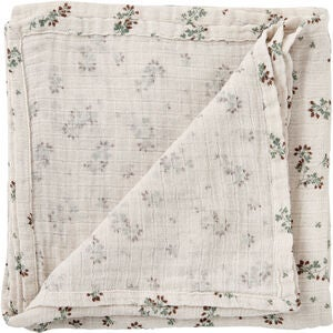 Garbo&Friends Musselintæppe Swaddle Clover