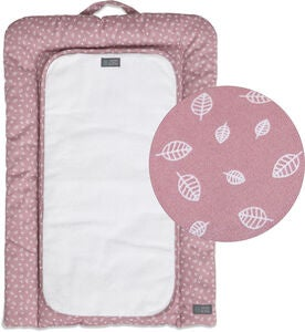 Vinter & Bloom Puslepude Nordic Leaf, Soft Pink