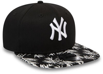 New Era KIDS Palm Print 9FIFTY KIDS NEYYAN Kasket, Black