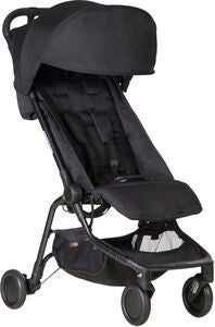 Mountain Buggy Nano Klapvogn, Black