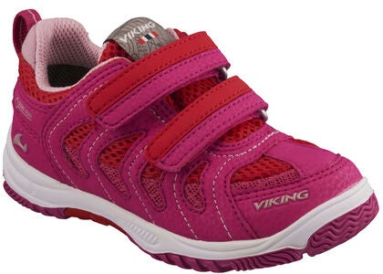 Viking Cascade II GTX Sneakers, Magneta/Red