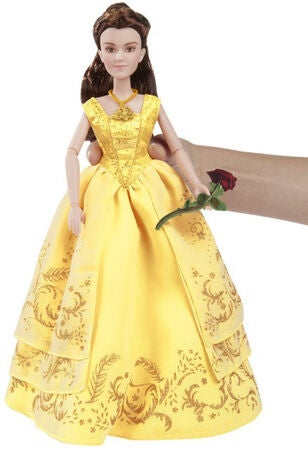 Disney Princess Dukke Belle Deluxe Fashion Gown