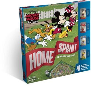 Cartamundi Spil Mickey & Friends Home Sprint Goose