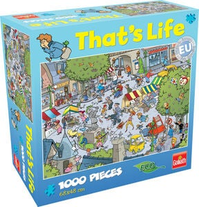 Goliath Games Puslespil That's Life – Village 1000 Brikker