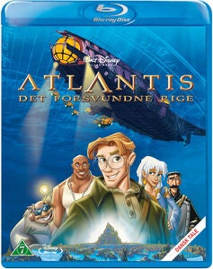 Disney Atlantis The Lost Empire Blu-Ray