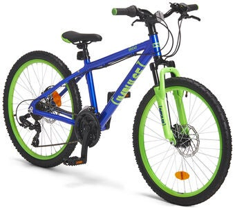 Impulse Premium Dread Mountainbike 24 Tommer, Blue/Green