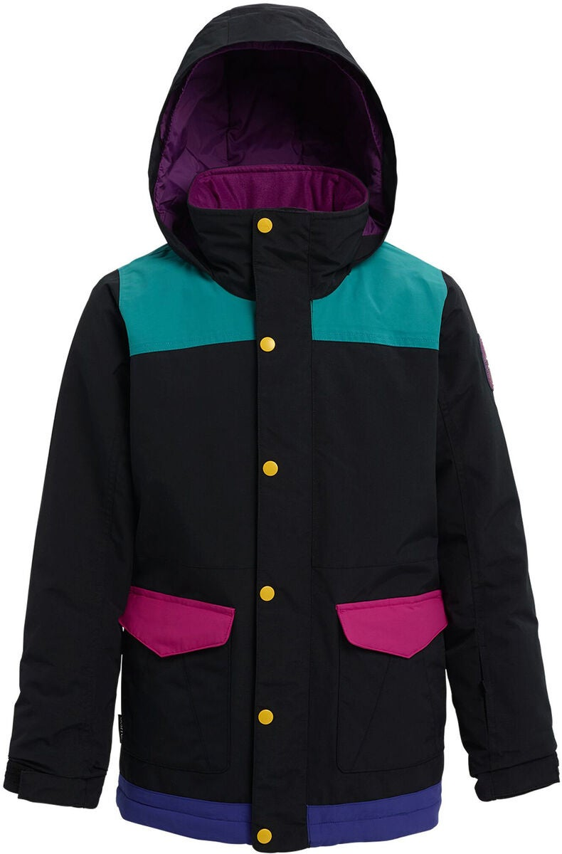 Burton Girls Elstar Parka, True Black Multi
