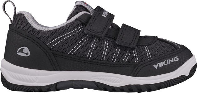 Viking Bryne Sneakers, Black/Grey