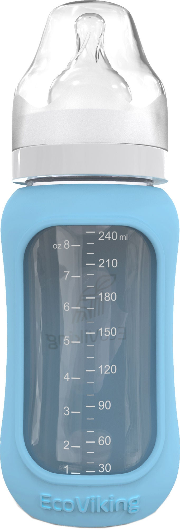 EcoViking ECO Sutteflaske 240 ml, Arctic Blue