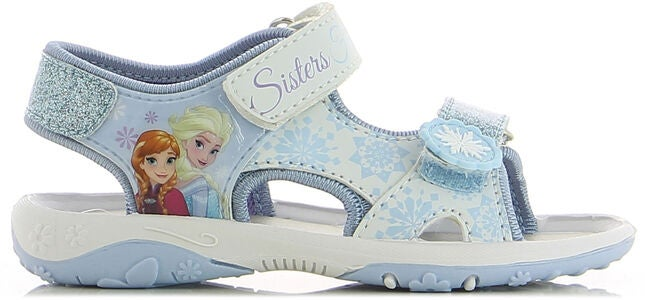 Disney Frozen Sandaler, White/Blue