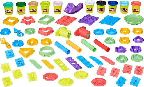 Play-Doh Modellervoks Play Date Party Crate