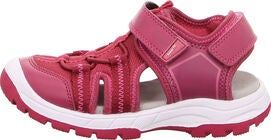 Superfit Tornado Sandaler, Red/Pink