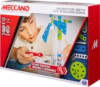 Meccano Byggesæt Geared Machines Set 3