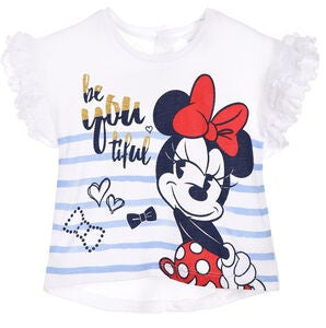 Disney Minnie Mouse T-Shirt, Off White
