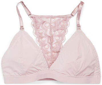 Milki Soft Lace Amme-BH, Dusty Pink