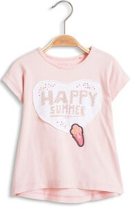 ESPRIT T-Shirt Happy Summer, Light Pink