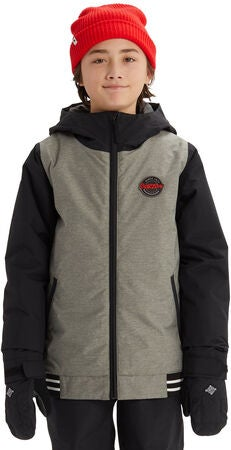 Burton Boys Gameday Jakke, Bog Heather/ True Black
