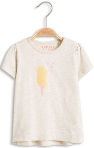 ESPRIT T-Shirt Ice Cream, Pastel Grey