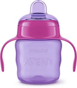 Philips Avent Classic Tudkop 200 ml, Purple/Pink