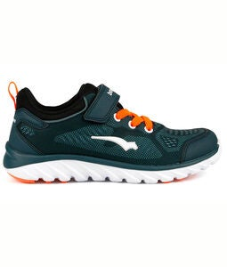 Bagheera Dynamo Sneakers, Navy/Orange