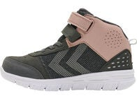 Hummel Crosslite Winter Mid Tex Jr Sneakers, Asphalt/Deauville Mauve