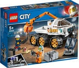 LEGO City 60225 Space Port Rover-testkørsel