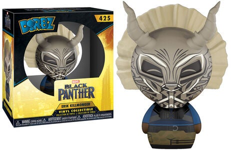Dorbz Marvel Black Panther Samlefigur Killmonger