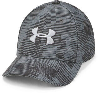 Under Armour Printed Blitzing 3.0 Kasket, Stealth Grey