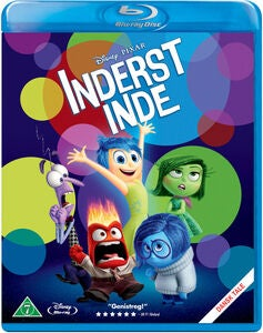 Disney Pixar Inderst Inde Blu-Ray