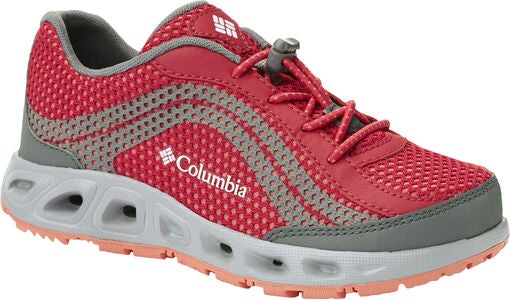 Columbia Youth Drainmaker IV Sneakers, Bright Rose/Hot Coral