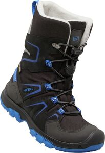 KEEN Levo Støvler WP, Black/Blue