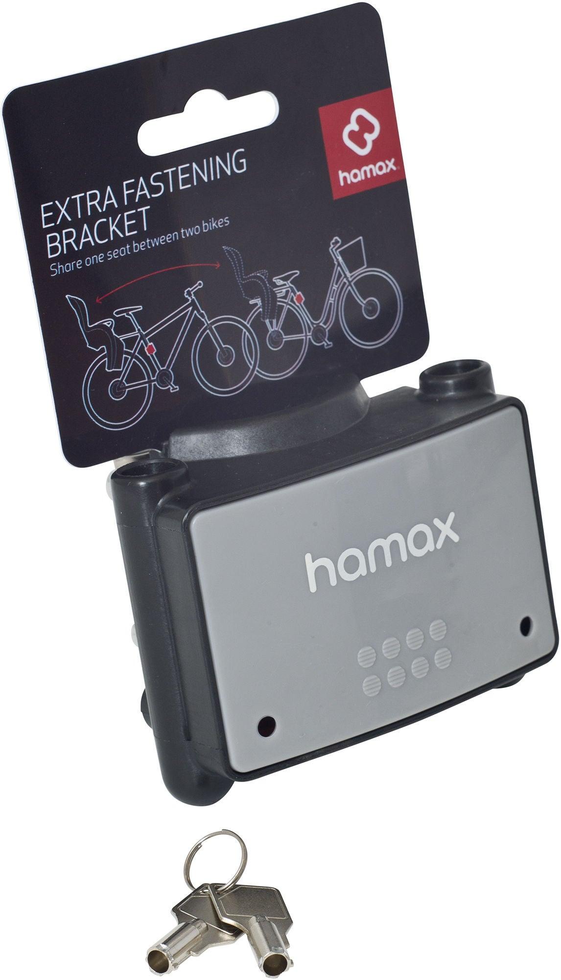 Hamax Ekstra Fastgørelsesanordning m. Lås til Cykelstol | Bike seat
