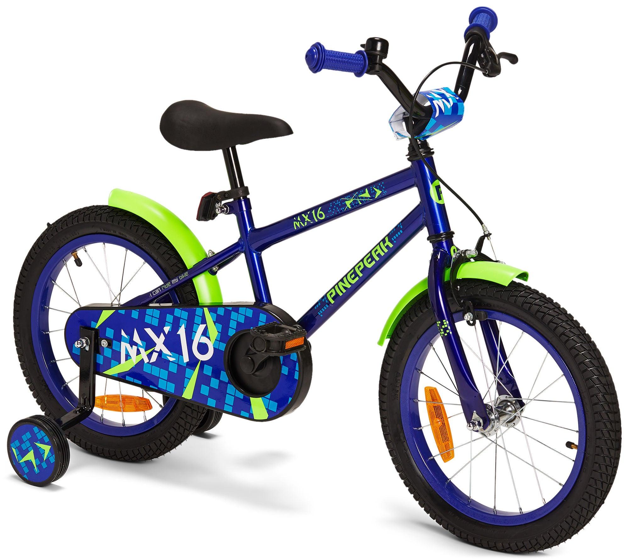Pinepeak Børnecykel 16 Tommer, Blå | City-cykler