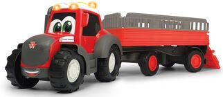 Dickie Toys Happy Massey Ferguson Dyretransport