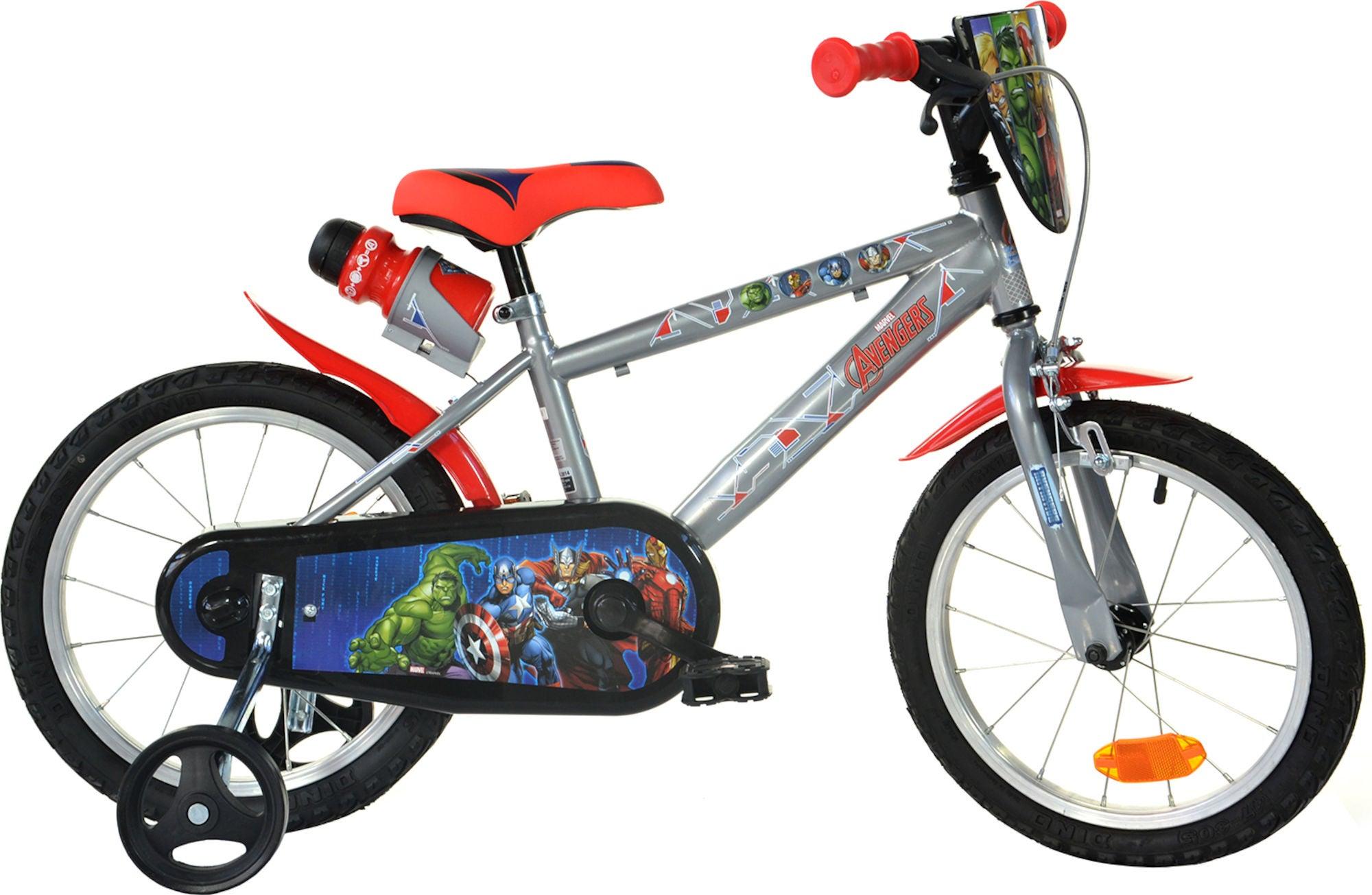 Køb Marvel Avengers Cykel 16 Tommer, Metallic Grå | City