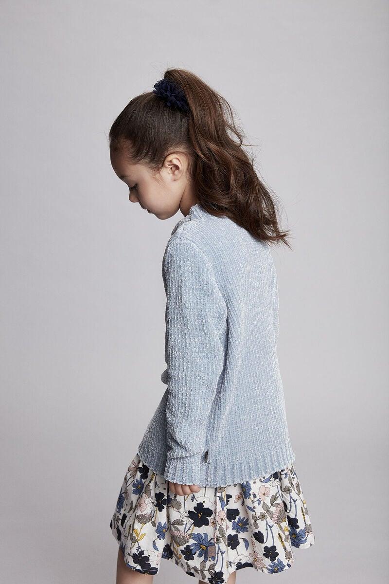 Køb Creamie Flower Kjole, Cloud | Jollyroom