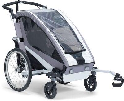 North 13.5 Active 1 Cykeltrailer, Grey | bike_trailers_component