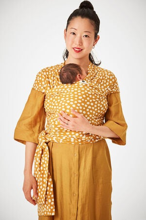 Coracor Vikle Abstract Dot, Mustard