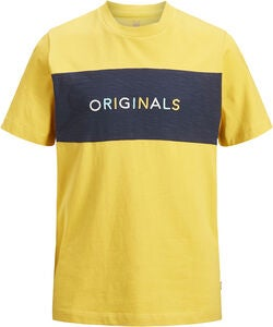 Jack & Jones Albas T-Shirt, Yolk Yellow