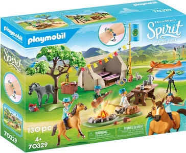 Playmobil 70329 Frontier Fillies Camp