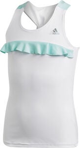 Adidas Girls Ribbon Tank Træningstop, White