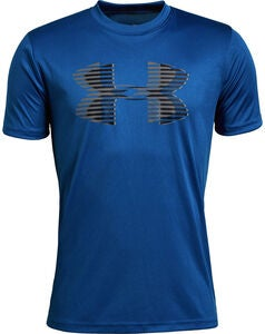 Under Armour Solid T-Shirt, Royal