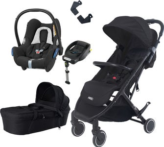 Axkid Life Duovogn, Sort + Travel System