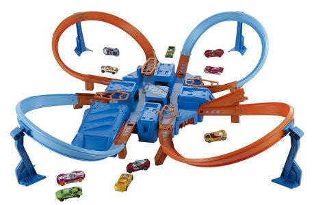 Hot Wheels Crash Racerbane m. 1 Bil