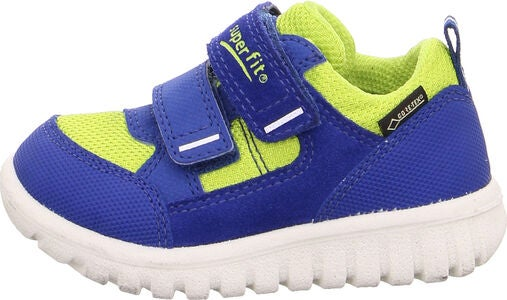 Superfit Sport7 Mini Sneakers, Blue/Yellow