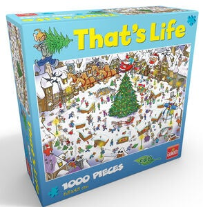Goliath Games Puslespil That's life – Christmas 1000 Brikker