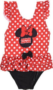 Disney Minnie Mouse Badedragt, Red