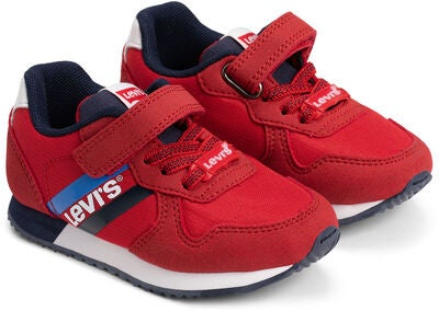 Levi's Springfield Mini Sneakers, Red/Navy