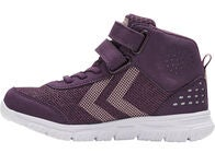 Hummel Crosslite Mid Tex Jr Sneakers, Blackberry Wine