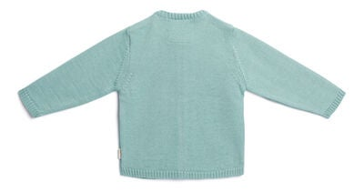 Petite Chérie Atelier Margit Babytrøje, Light Green/Dusty Green